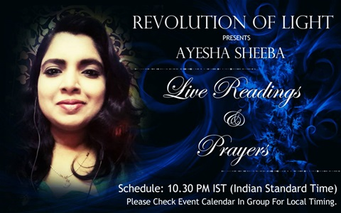 """RADIO SHOW:  AYESHA SHEEBA ON THE SPIRITUAL REALM AND WHAT IS AFTER """"DEATH"""""""