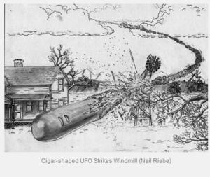 ALIEN SPACESHIP CRASH IN TEXAS IN 1897