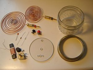 """HERE ARE AVAILABLE PARTS TO BUILD THE """"TESLA SPIRIT RADIO"""""""